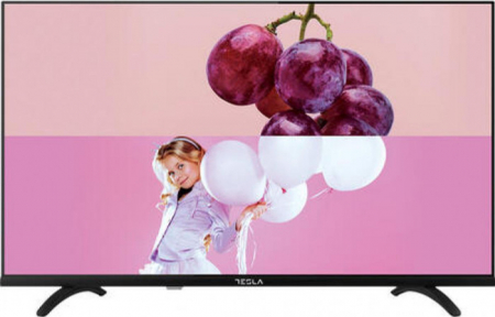 Televizor Tesla DLED 32S393BH 81 cm HD Clasa F Negru 32s393bh0