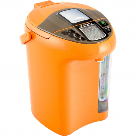 Thermopot Oursson TP4310PD/OR, fierbator + termos electric, 750 W, 4.3 l, Portocaliu [0]