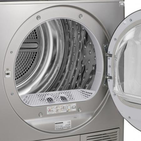 Uscator de rufe Heinner HHPD-V804SA++, Pompa caldura, 8 kg, Display LED, Lumina cuva, Anti-sifonare, Clasa A++, Argintiu5