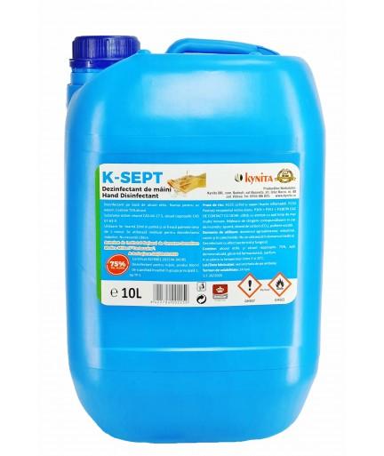 Dezinfectant Pentru Maini 10L Alcool 75% 0