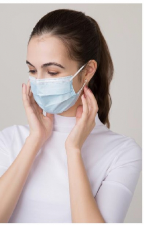 Masca medicala IIR 3 straturi 3 pliuri >99 % protectie [0]