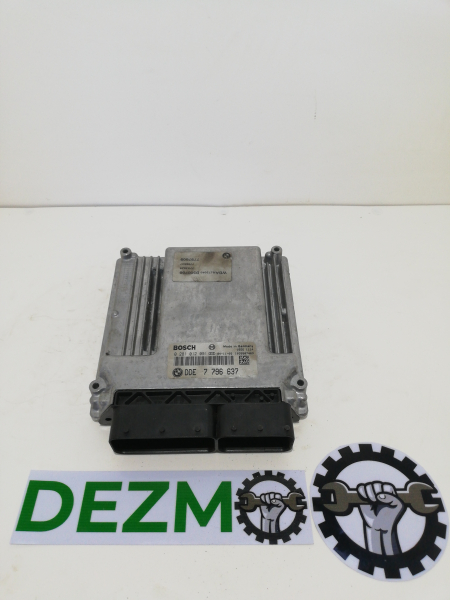 Ecu Calculator Motor BMW E60 Dde7796637 0