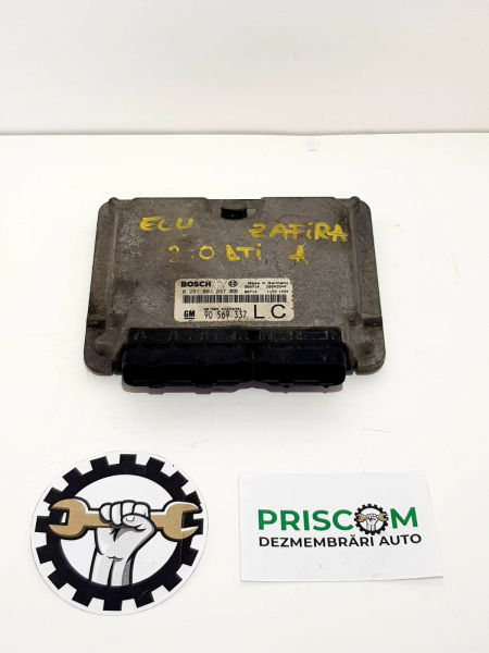 Calculator Motor Ecu Opel Zafira A Gm 90 569 337 0