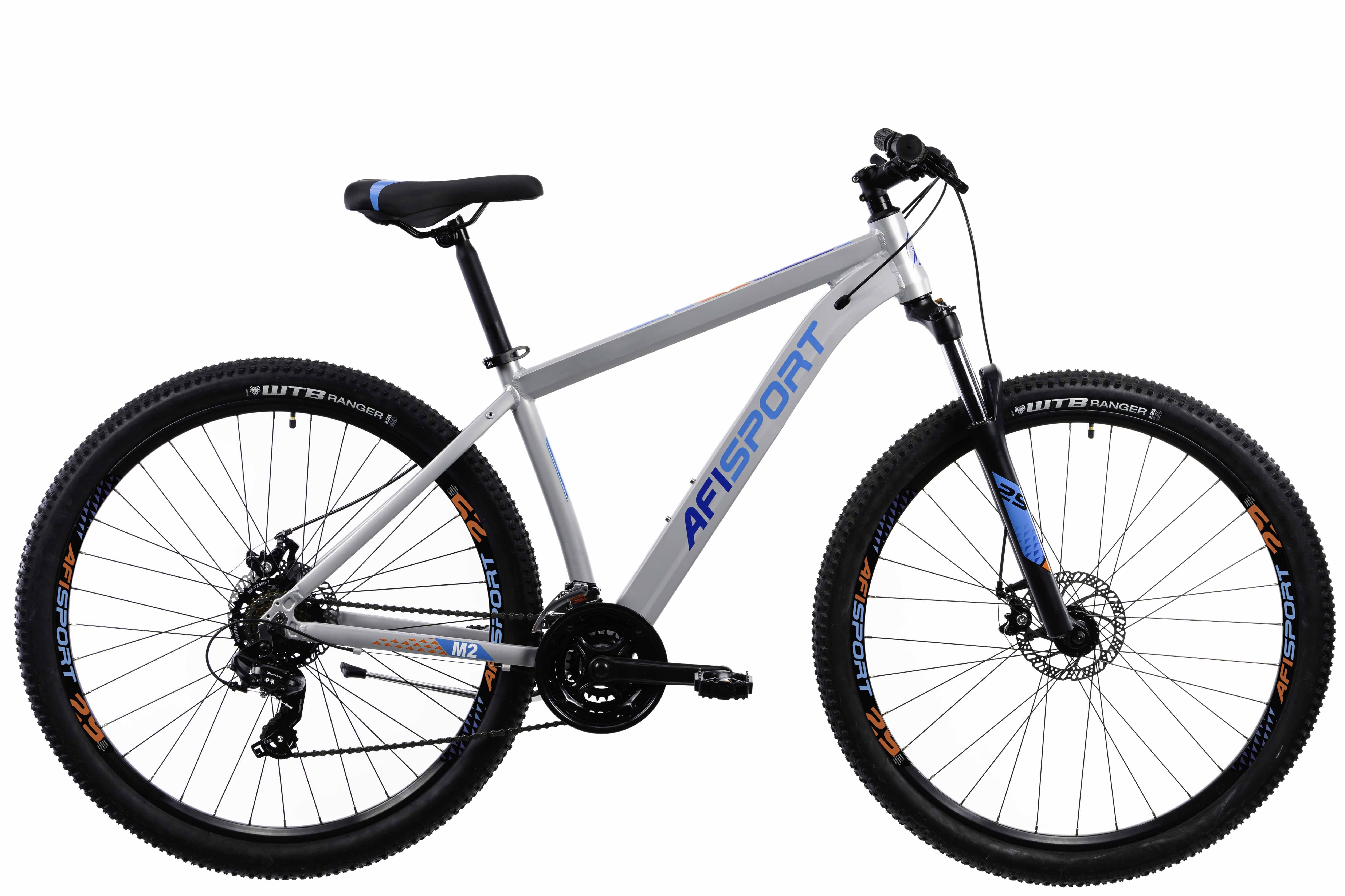 Bicicleta Mtb Afisport M2 - 29 inch, L , Argintiu [0]