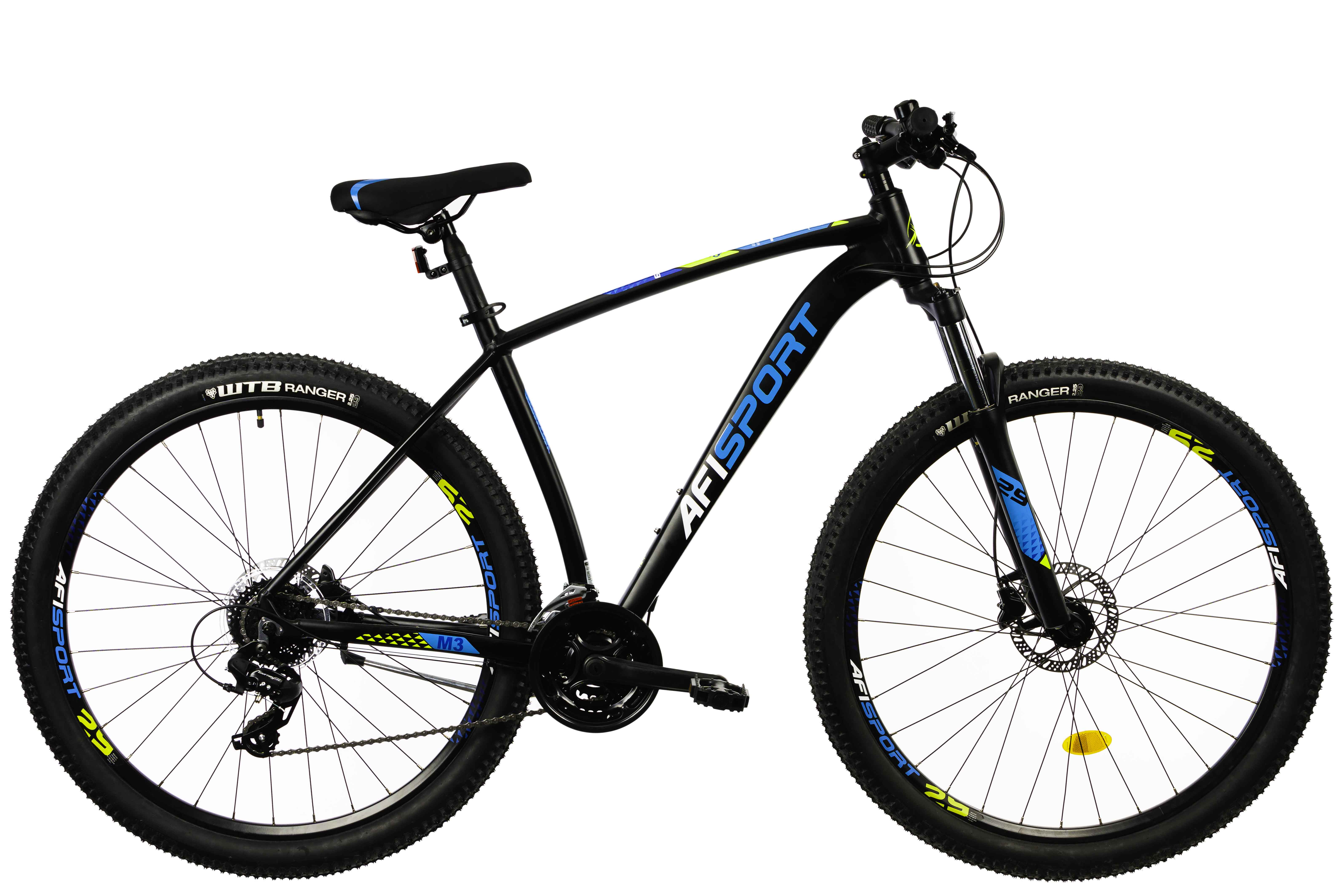 Bicicleta Mtb Afisport M3 - 29 inch, 495 mm, Gri [16]