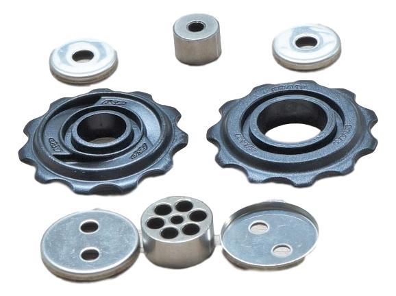 04-09 X7/Dual Drive27, Sx5, 08-09 X5 Rear Derailleur Pulley Kit Qty 2 0