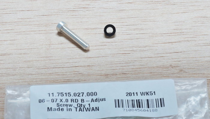 06-09 X0 Rear Derailleur B-Adjust Screw, Qty 1 [1]