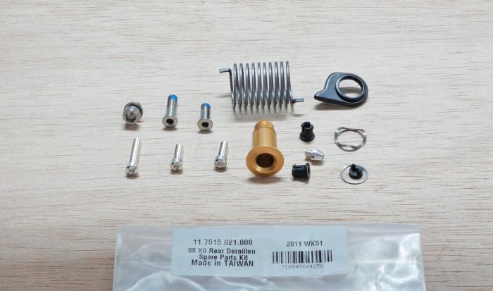 08-09 X0 Rear Derailleur Spare Parts Kit 1