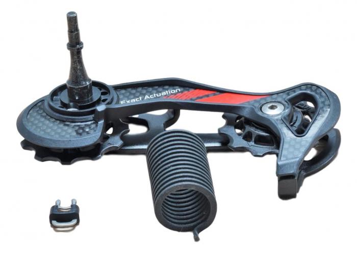 11 Rear Derailleur X9 10 Speed Medium Cage Assembly Red 0