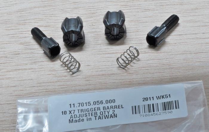 11 Sl X9 10-11 X7 Barrel Adjuster Qty 2 1