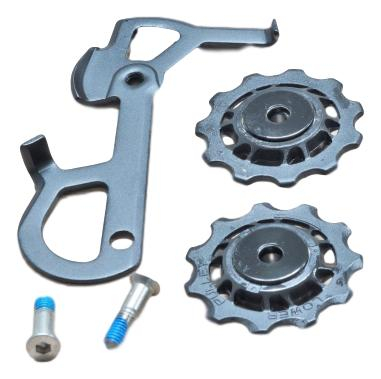 2010 X9 Rear Derailleur Cage Kit Short (Inner Cage & Pulleys, Outer Cage Not Replaceable) 0