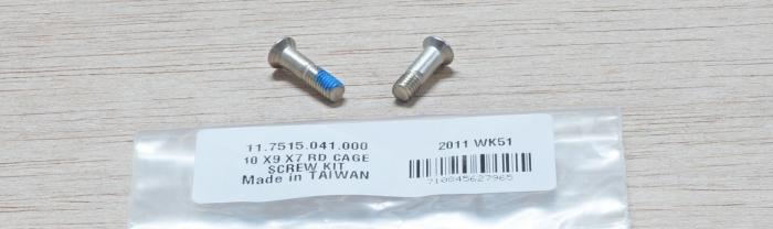 2010 X9 X7 Rear Derailleur Cage Screw Kit [1]