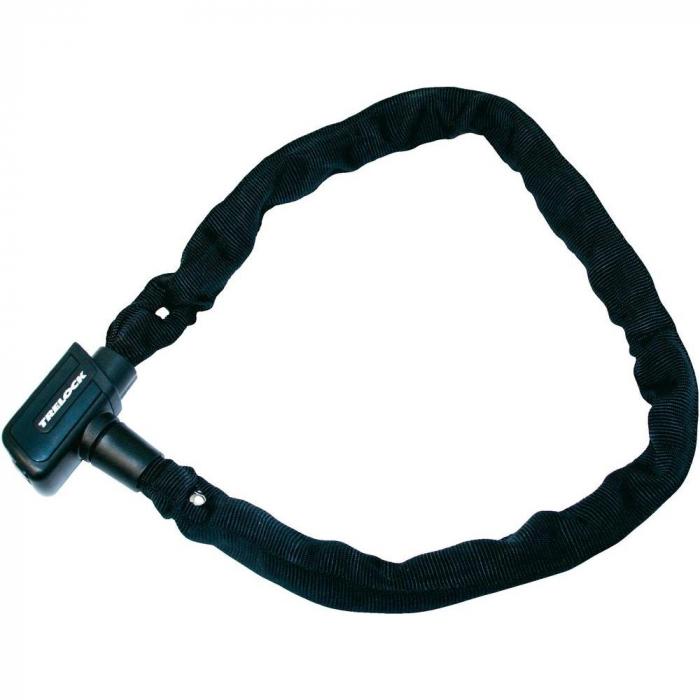 Antifurt Bicicleta Trelock C2 85/6, lant cu zale, negru 0