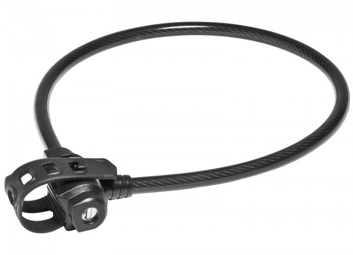Antifurt Bicicleta Trelock Ks 222 Fixxgo Dragon, Nivel 2/6, support guma, negru [0]