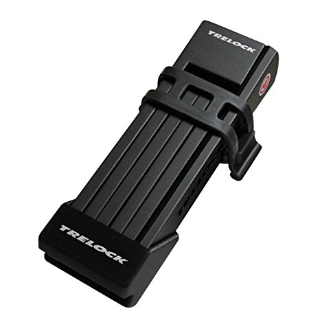 Antifurt Bicicleta Trelock Modular Pliabil Trelock Fs200, securitate2/6,anti-coroziv/praf,cheie rev.,negru 0