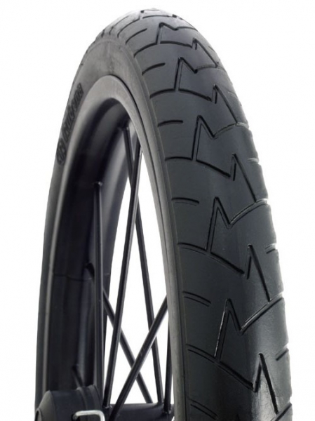 Anvelopa Bicicleta Mitas 14 X 1-3.8 350A V57 Confort, pre clasic, neagra [0]