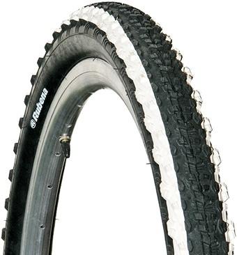 Anvelopa Bicicleta Mitas 24 X 1,90 V75 Scylla, Negru Cu Dungi Albe 0