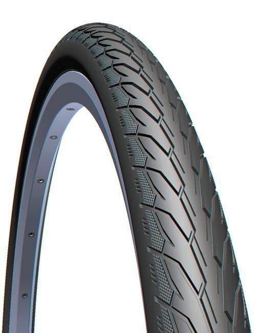 Anvelopa Bicicleta Mitas 700 X 28C V66 Flash 28-622, Lateral Bej 0