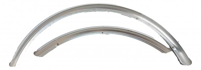 Aparatori Noroi Rp2 Fibra Carbon late, argintiu, fara suporti si accesorii 0