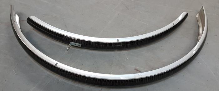 Aparatori Noroi Rp2 Fibra Carbon late, argintiu, fara suporti si accesorii 1