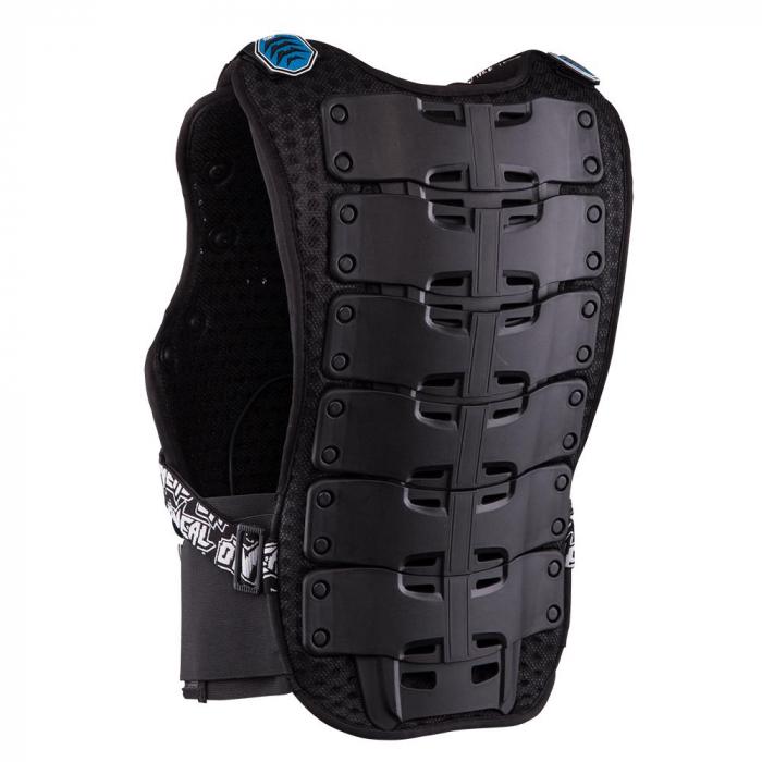 Armura Protectie O'Neal Holeshot Roost, Zone Extinse De Protectie Marime Xl, albastra 2
