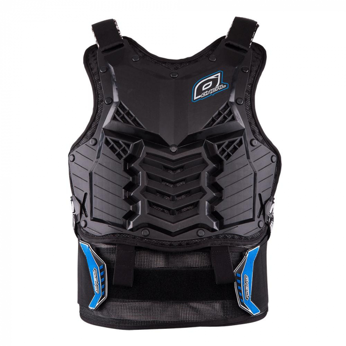 Armura Protectie O'Neal Holeshot Roost, Zone Extinse De Protectie Marime Xl, albastra 0