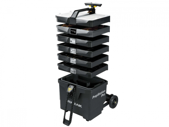 Atelier Mobil Topeak Prepstation Pro Tps-05, dulap-suport scule, otel profesional 1