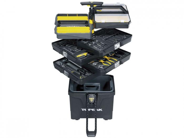 Atelier Mobil Topeak Prepstation Pro Tps-05, dulap-suport scule, otel profesional 2