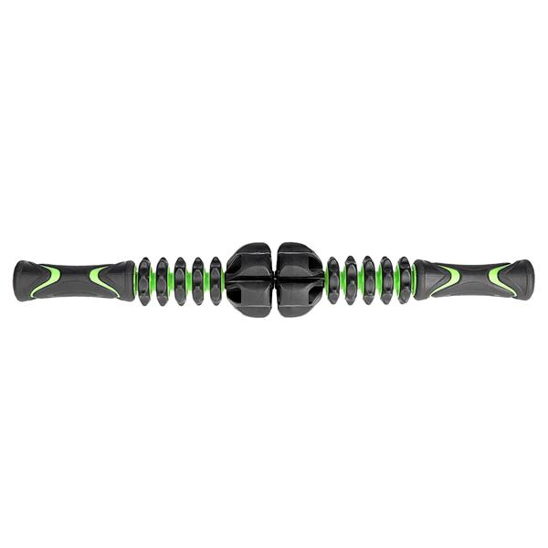 Rola masaj HMS MS01 tip baston, L50cm, negru-verde [0]