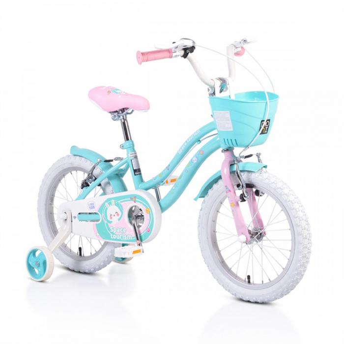Bicicleta Copii 1683 - 16 Inch  Turcoaz [0]
