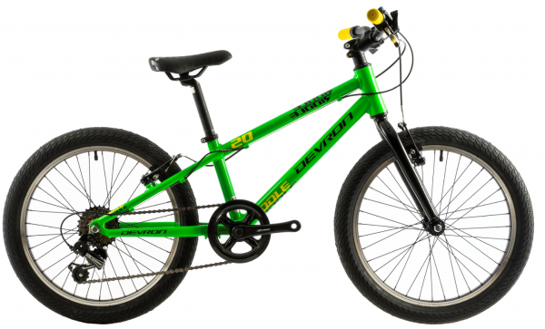 Bicicleta Copii Devron Riddle K1.2 245Mm Roz/Alb 20 Inch 1