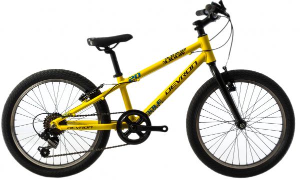 Bicicleta Copii Devron Riddle K1.2 245Mm Roz/Alb 20 Inch 2