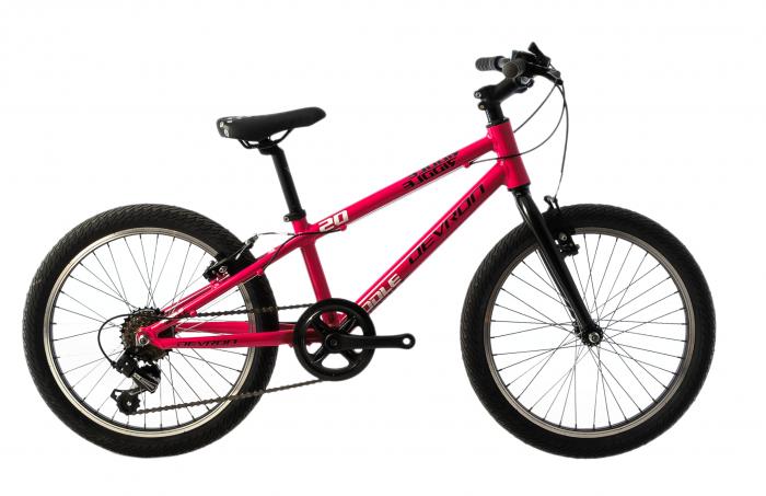 Bicicleta Copii Devron Riddle K1.2 245Mm Roz/Alb 20 Inch 0