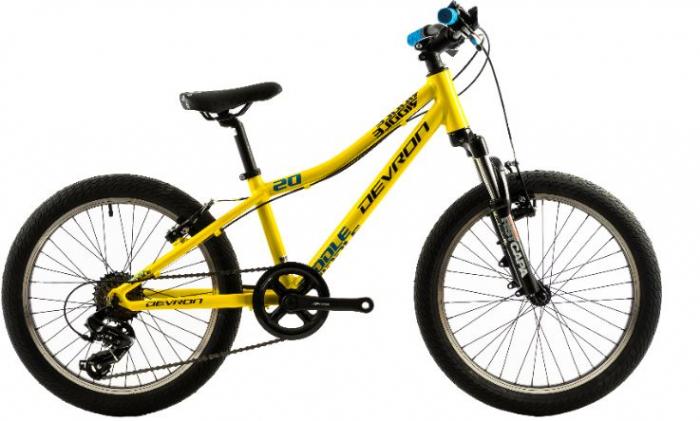 Bicicleta Copii Devron Riddle K2.2 280Mm Galben 20 Inch 0