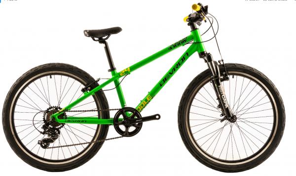 Bicicleta Copii Devron Riddle K2.4 Negru 24 Inch 0