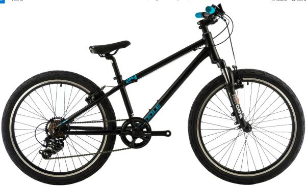 Bicicleta Copii Devron Riddle K2.4 Negru 24 Inch 3