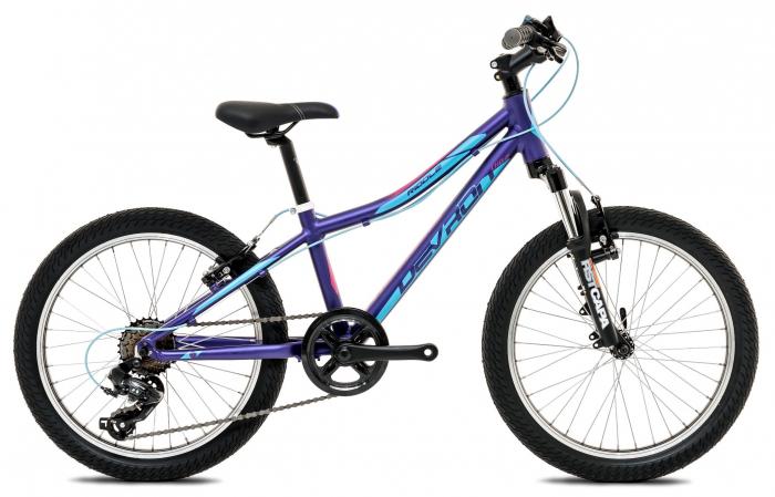 Bicicleta Copii Devron Riddle Lh0.2 S 280 Deep Purple 20 Inch 0