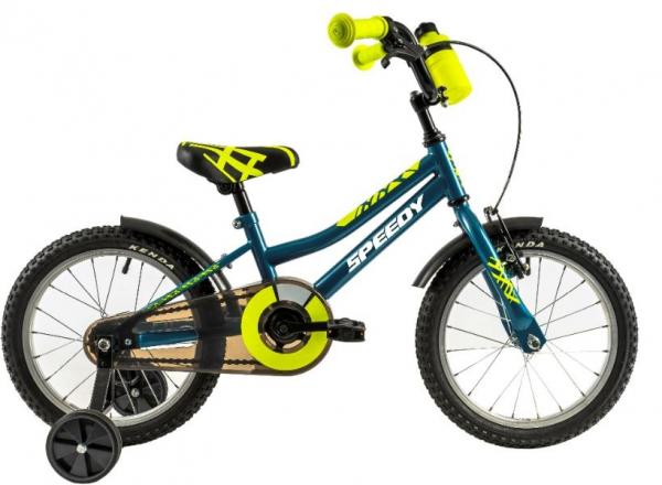 Bicicleta Copii Dhs 1401 Portocaliu/Negru 14 Inch 2