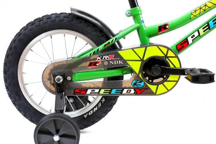 Bicicleta Copii Dhs 1401 Verde 14 Inch [3]