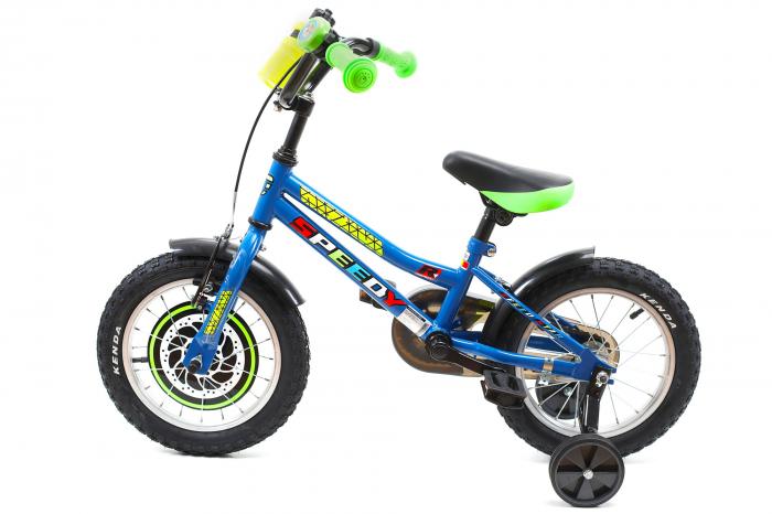 Bicicleta Copii Dhs 1401 Verde 14 Inch [13]