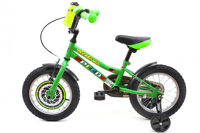 Bicicleta Copii Dhs 1401 Verde 14 Inch [7]