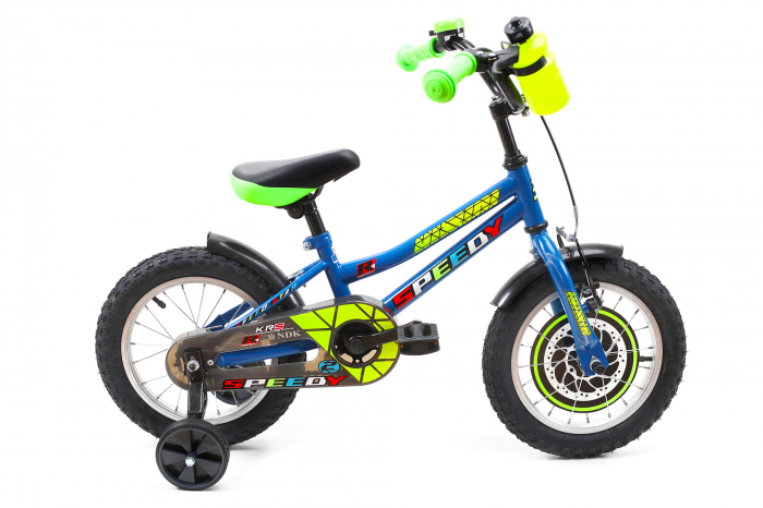 Bicicleta Copii Dhs 1401 Verde 14 Inch [8]