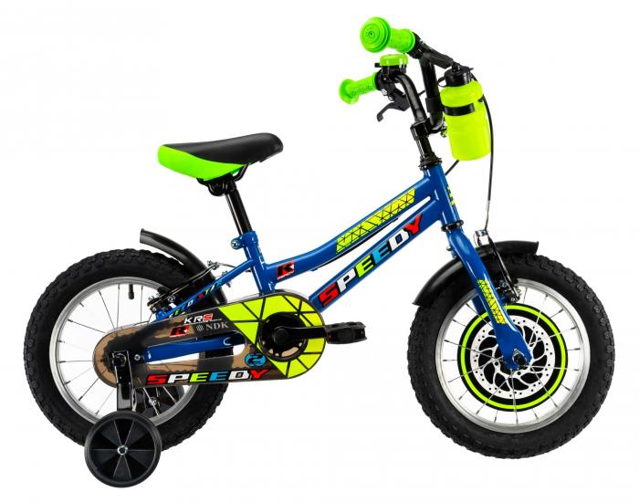 Bicicleta Copii Dhs 1403 Verde 14 Inch 1
