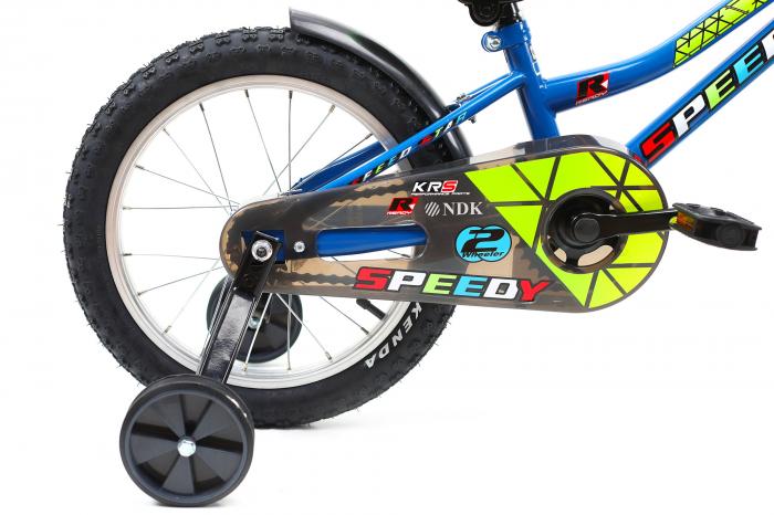 Bicicleta Copii Dhs 1601 Verde 16 Inch 3