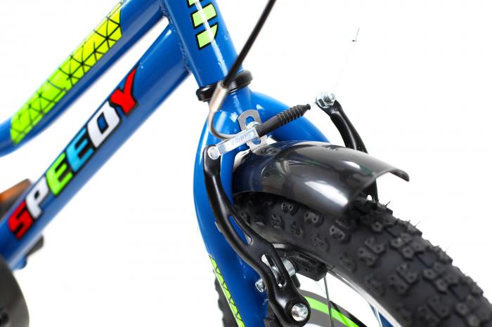 Bicicleta Copii Dhs 1601 Verde 16 Inch 4