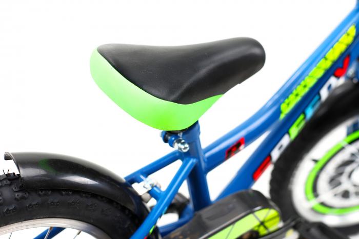 Bicicleta Copii Dhs 1601 Verde 16 Inch 2