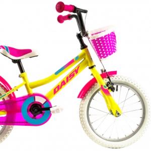 Bicicleta Copii Dhs 1602 Galben 16 Inch [1]