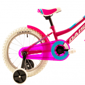 Bicicleta Copii Dhs 1602 Galben 16 Inch [5]