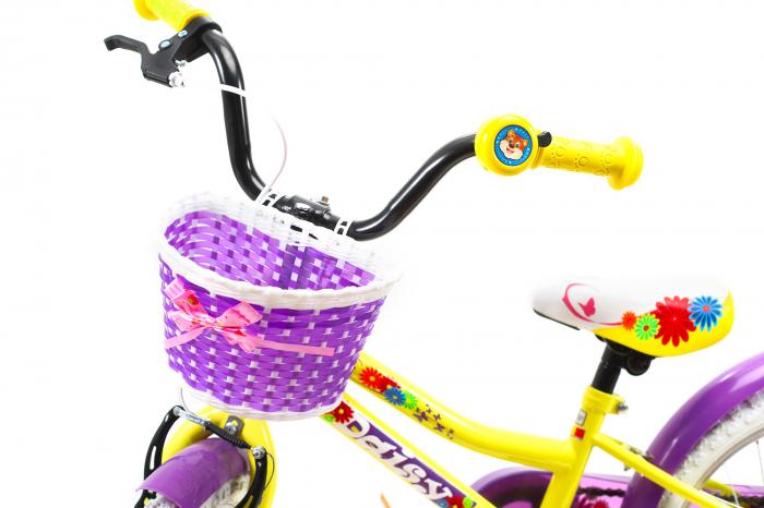 Bicicleta Copii Dhs 1602 Violet 16 Inch 8