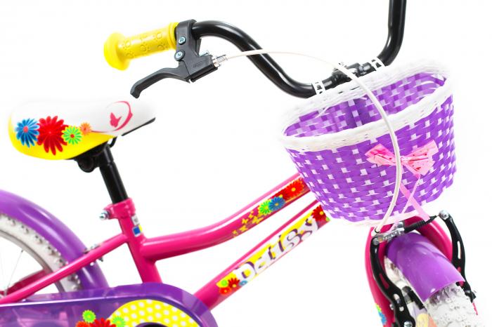 Bicicleta Copii Dhs 1602 Violet 16 Inch 4